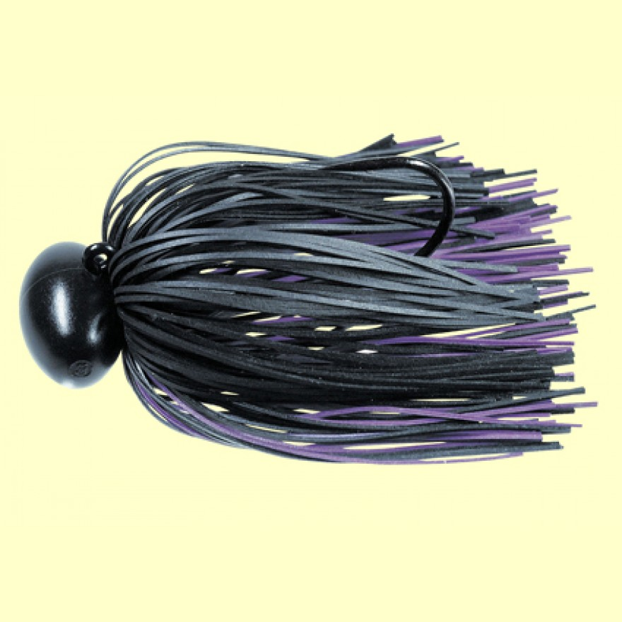Graphite Football Jig 3/8oz - Schwarz Purple - Lucky Craft