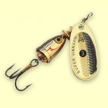 Vibrax Shad 3 - GSD - Blue Fox Spinner