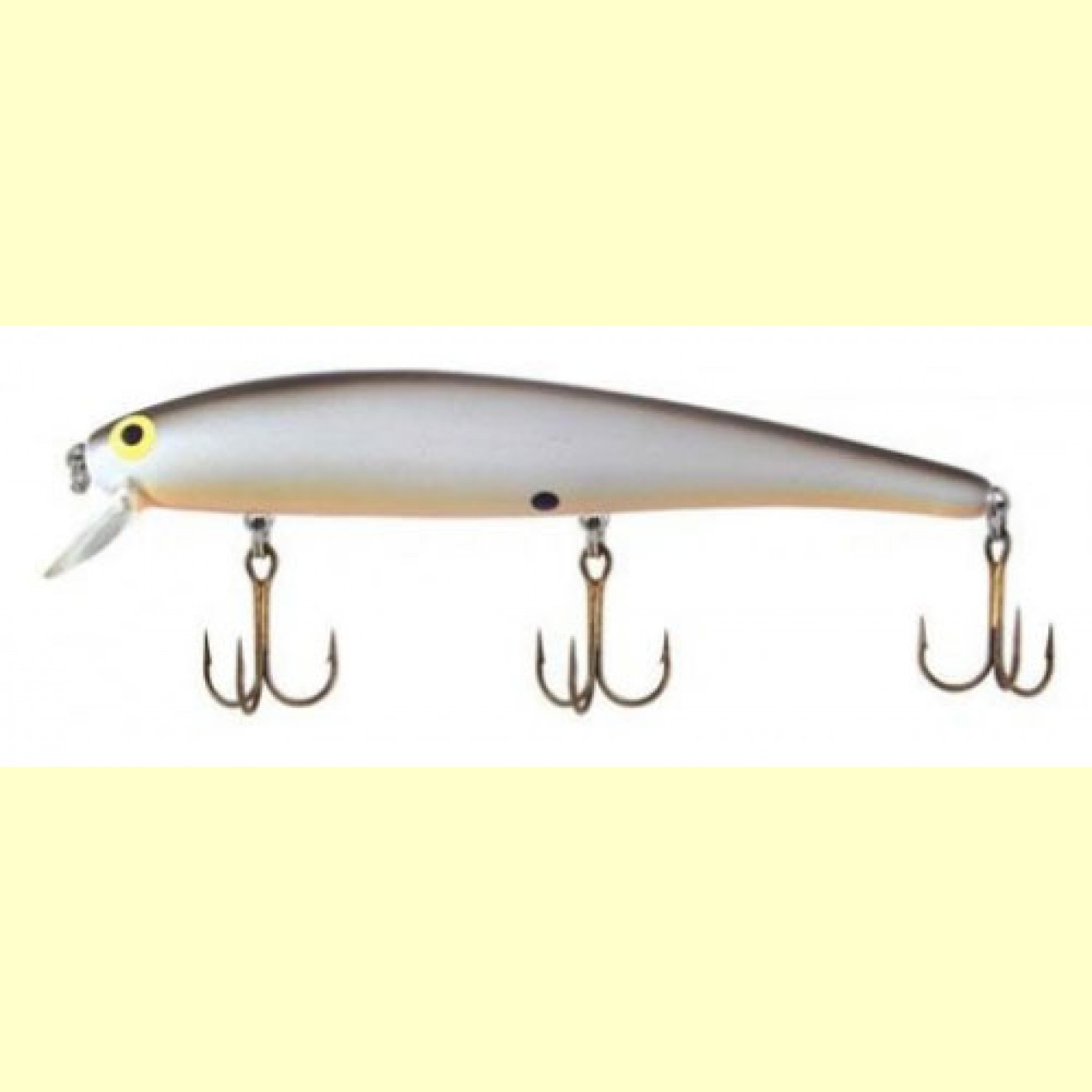 Long A 11,5 - Pearl / Black Back OB - Bomber Lures